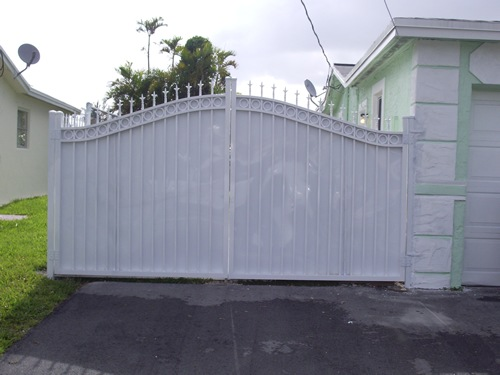 Double Swing Gates