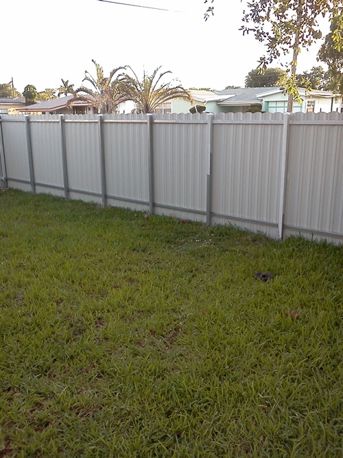 Metal Privacy Fence